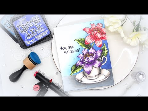 Altenew Alcohol Markers Release Blog Hop