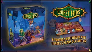 The Quest Kids Trailer - A Family-Friendly Fantasy Board Game