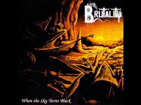 Brutality - When The Sky Turns Black - 1994 (Full Album)