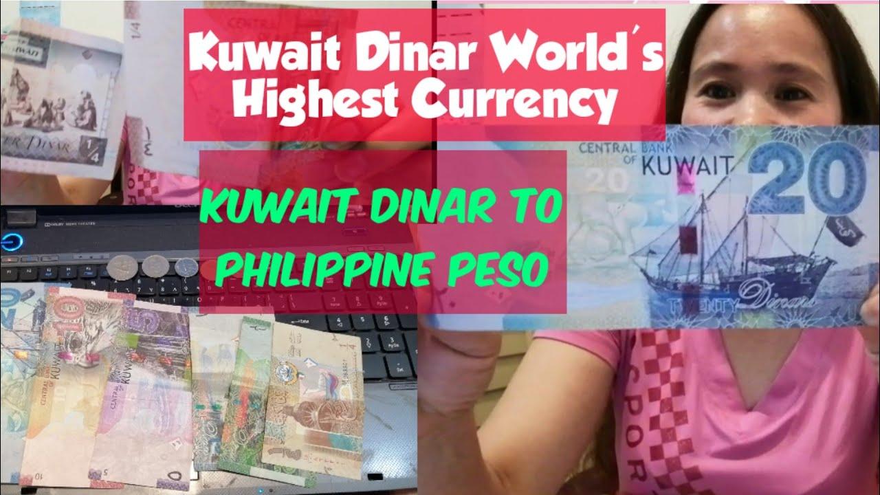 Kuwait Dinar To Peso World S Highest