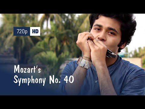 Mozart's Symphony no. 40 (medley Na Tum Jano Na Hum) - Harmonica (Cover) - Gourab Das (gourabex)