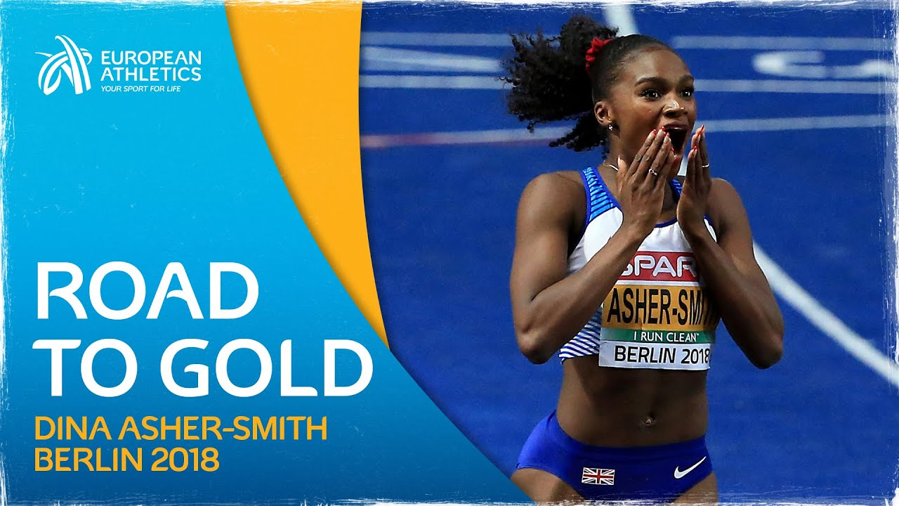 Sprint QUEEN - Road to Gold: Dina Asher-Smith | Berlin 2018