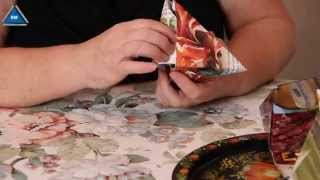 видео Как сделать ромб из бумаги