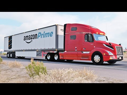 Amazon Prime | American Truck Simulator w/Wheelcam