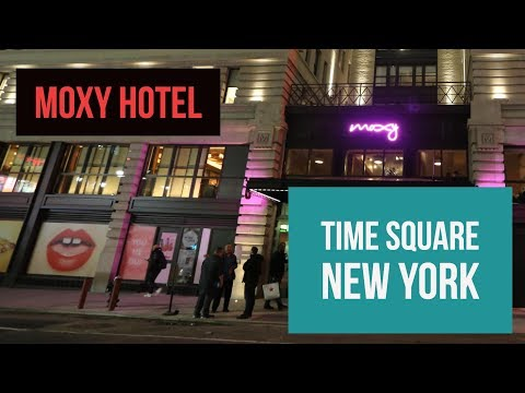 Hotel Moxy Times Square New YOrk
