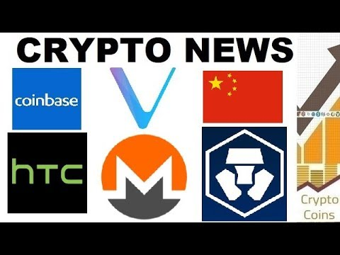 Crypto News: Monero, Bakkt, HTC, Monaco, Vechain, China, Coinbase (22nd-28th of October)