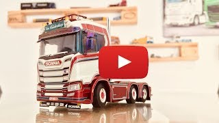 Scania S CS20N Sleeper Cab Showtruck - Van Caudenberg - WSI Models - TRUCKMO TV