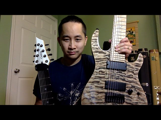 In-depth review: Carvin DC800 8-string guitar