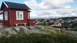On top of Vrango island in Gothenburg Sweden