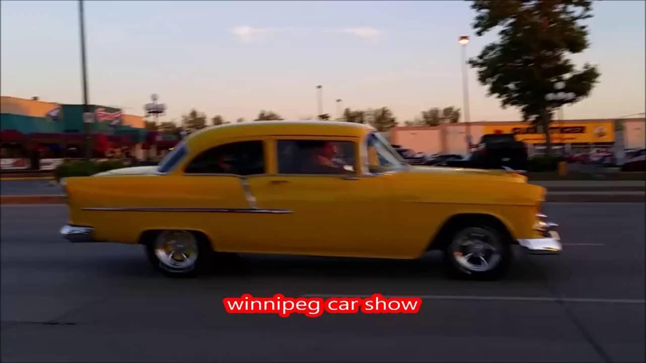 CAR SHOW WINNIPEG MANITOBA CANADA - YouTube