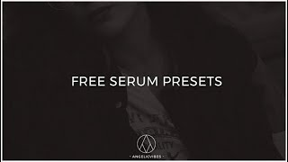 Free Serum Presets | Mellow Trap | Logic Pro X