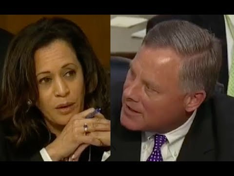 Kamala Harris Pisses Off Intelligence Committee Chairman When She Tries to Control Senate Hearing!
