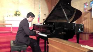 2013 LIPC 1st Place Level 9 Bach Prelude & Fugue  No.21