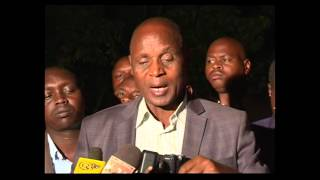 Kericho polls- KANU candidate Paul Sang protests the results