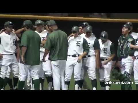 East LA College Huskies Mens Baseball vs Long Beach City College  2014