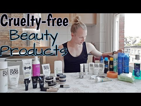 My Cruelty-Free Beauty Products | Male Vegan