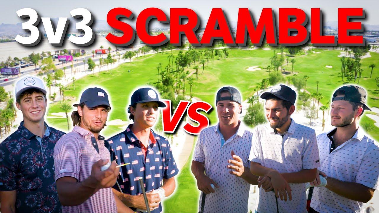 Crazy 3v3 Scramble in Las Vegas!
