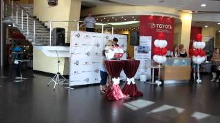 видео акции на тойота