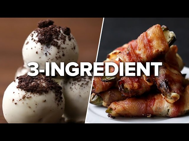 43 Easy 3-Ingredient Recipes