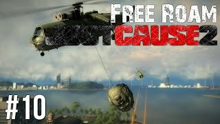 Just Cause 2 Free Roam Gameplay #10 - Wrecking Ball (Just Cause 3 Hype)