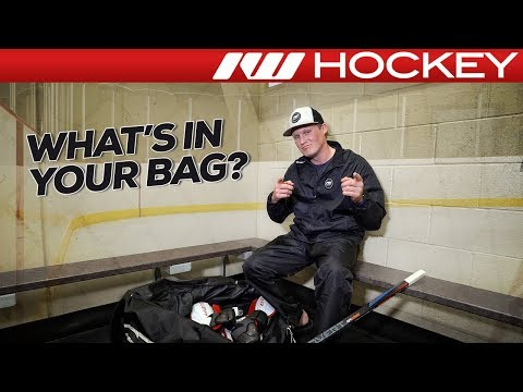 2018 What's In Your Hockey Bag | IW's Product Tester: Chase
