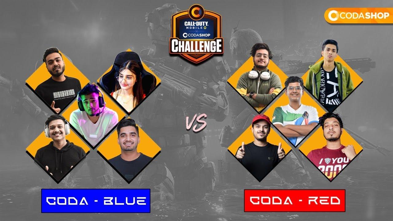 Call of Duty Mobile X Codashop Challenge