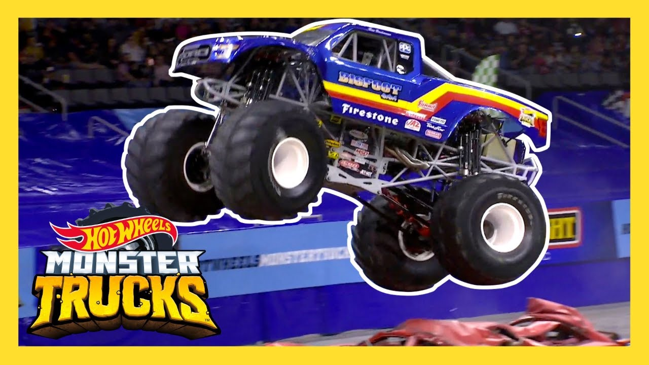 Hot Wheels Monster Trucks Come To Life Monster Trucks Live Texas Hot Wheels Youtube