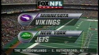 NFL on FOX - 1997 Week 13 Vikings vs Jets - open