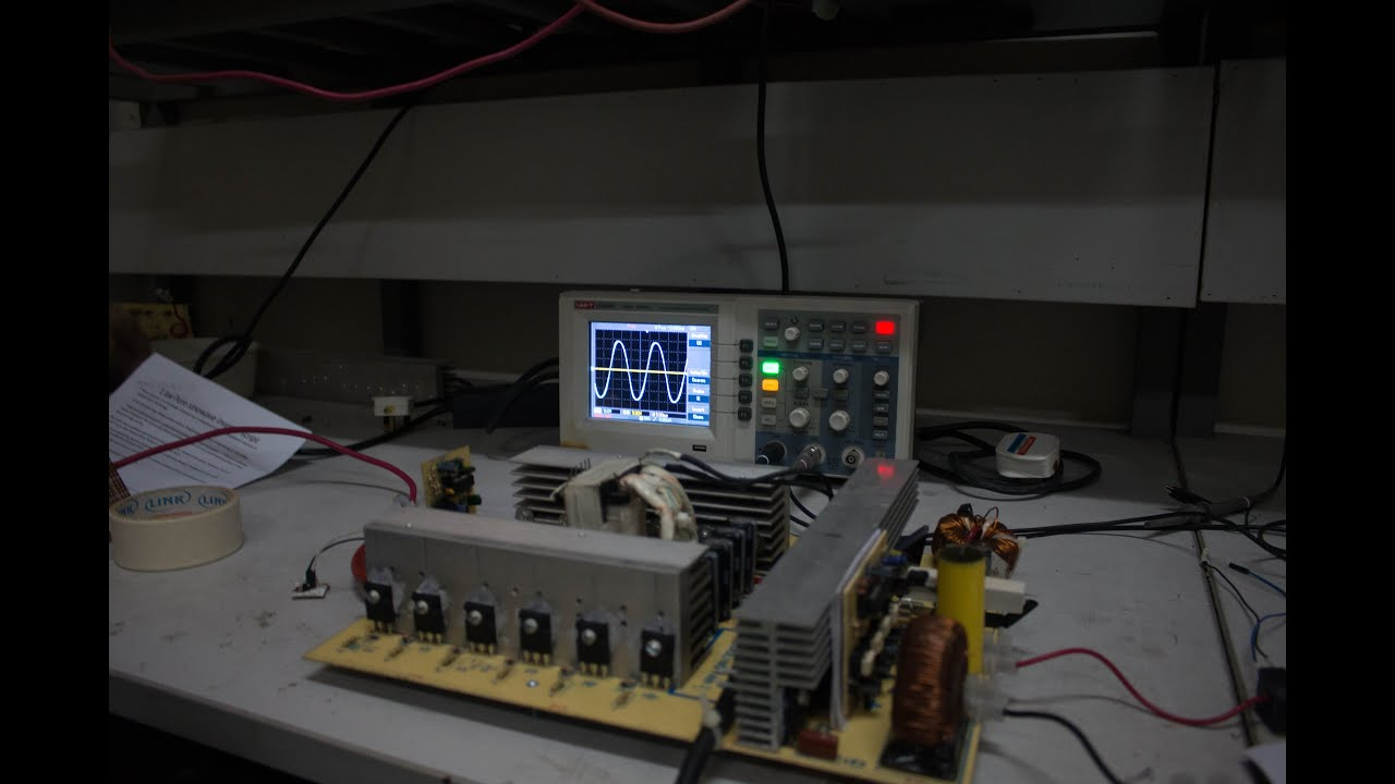 Pure Sine Wave Inverter 1kw Youtube Sinusoidal Signal Generator Circuit Diagram Electronic Project