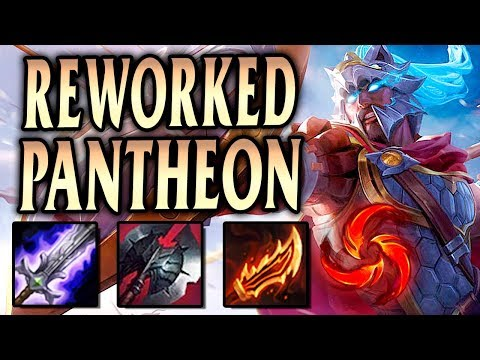 REWORKED PANTHEON! ALL HAIL THE SPARTAN'S BLADE! - League of Legends S9