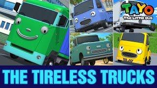 The Tireless Trucks l Meet Tayo's Friends #4 l Tayo the Little Bus
