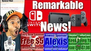 REMARKABLE NINTENDO SWITCH NEWS!