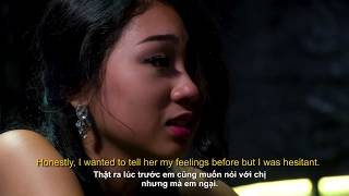Love confession of contestant Minh-Thu, NOT to the Bachelor Vietnam but another contestant