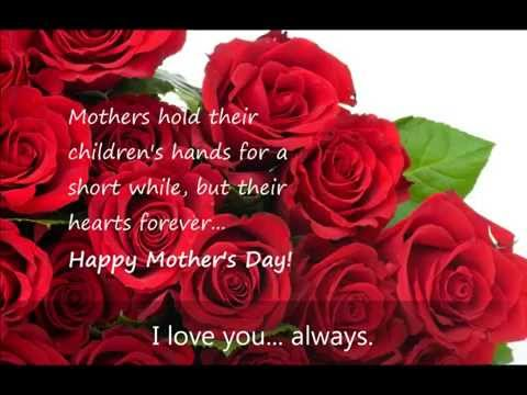 Happy Mother's Day Mom!