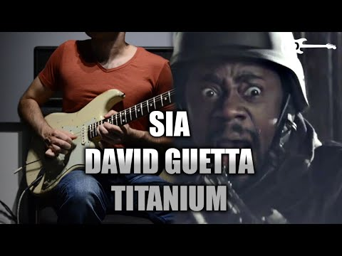 David Guetta Ft. Sia - Titanium - Electric Guitar Cover By Kfir Ochaion