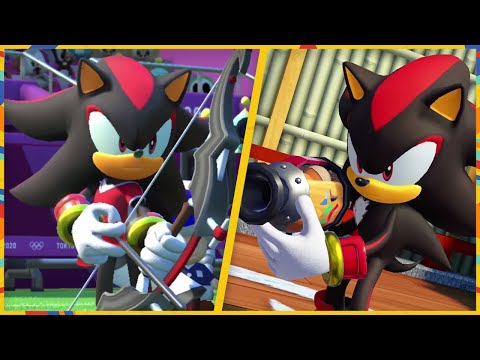 All 24 Events (Shadow Gameplay)   Mario & Sonic At The Olympic Games Tokyo 2020 (Switch)