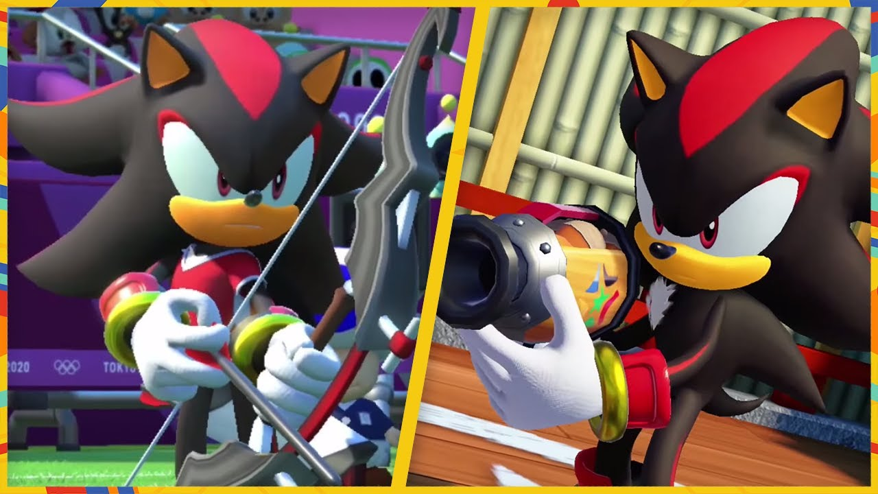 All 24 Events (Shadow gameplay) | Mario & Sonic at the Olympic Games Tokyo 2020 (Switch)