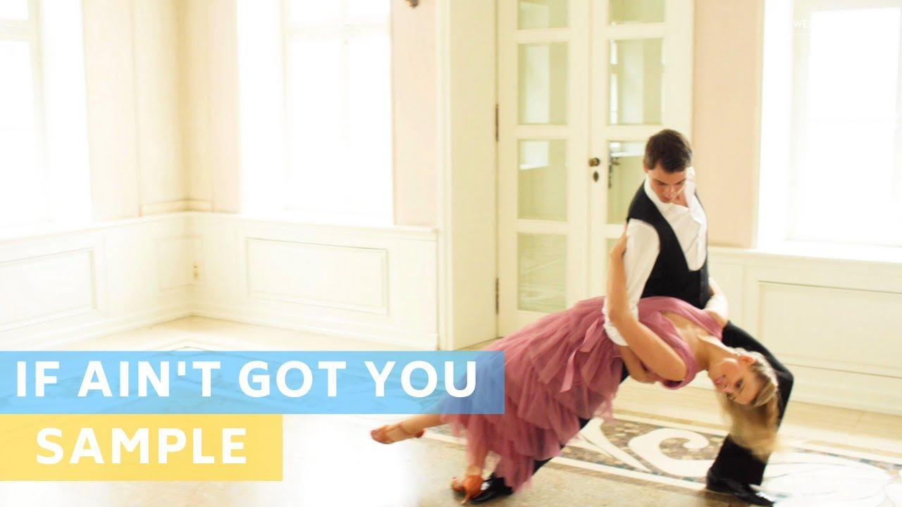 Sample Tutorial: Alicia Keys - If Ain't got you | Pierwszy Taniec | Wedding Dance Choreography