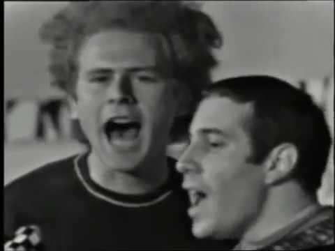 Simon & Garfunkel -  I am a rock (live in France, 1966) mp3