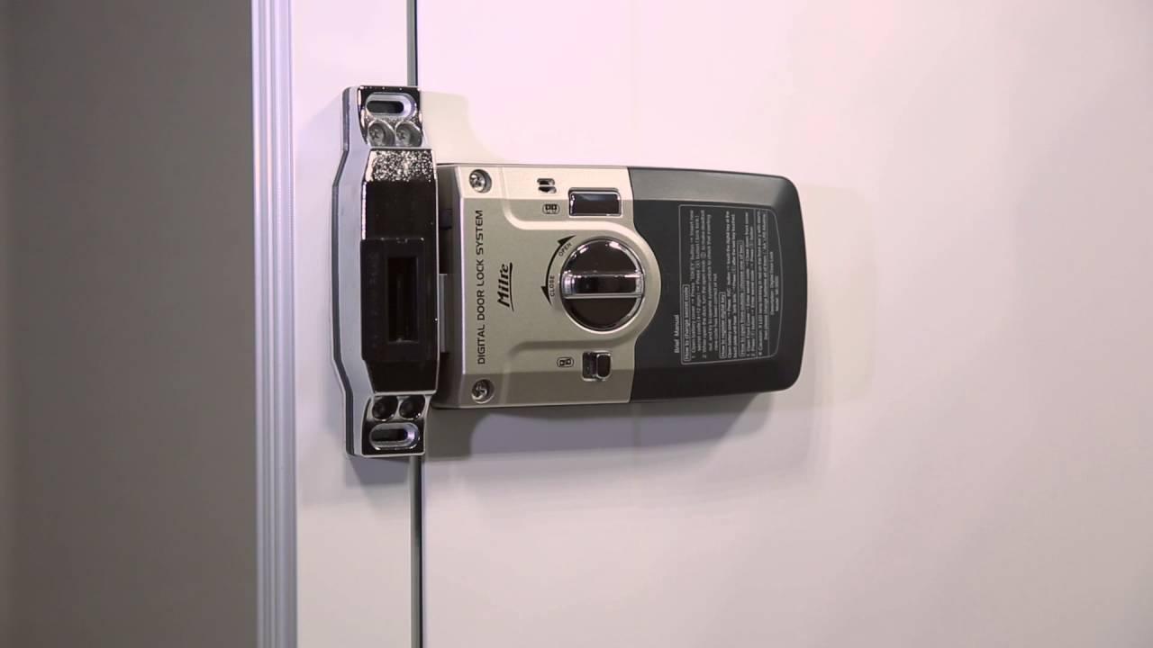 Электронный дверной кодовый замок Milire 350D