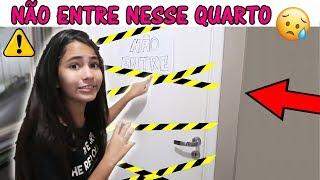 BELA BAGUNÇA NÃO ENTRE NESSE QUARTO MISTERIOSO!!! thumbnail
