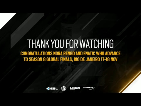 Rainbow 6 Pro League Season 8 APAC Finals - Day 2