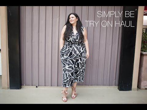 173777d3a0 PLUS SIZE FASHION TRY ON HAUL | SIMPLY BE | my PRETTIEST haul ever!