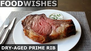 Dry-Aged Prime Rib - How to Dry-Age Beef - Food Wishes