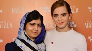 Emma Watson and Malala Yousafzai Want You to Embrace Feminism