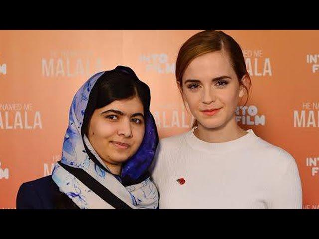 Emma Watson and Malala Yousafzai Want You to Embrace Feminism