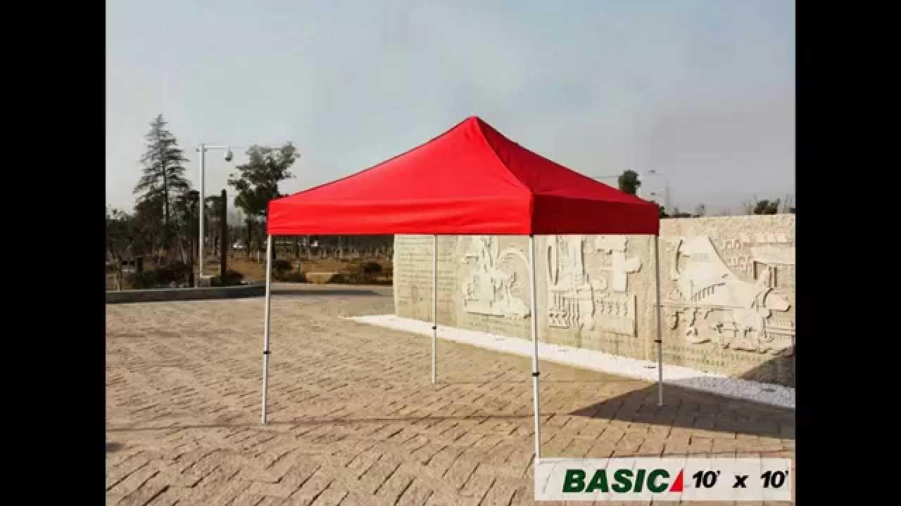 Eurmax 10 X 10 Ez Pop Up Canopy Gazebo Commercial Tent 4