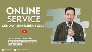 GBI Marina Plaza - Ibadah Raya 6 September 2020 | Pdt. Benny Gunawan