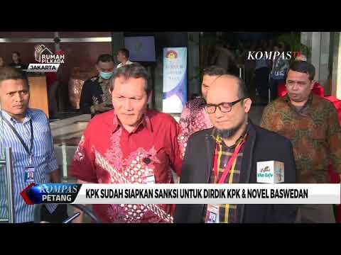 KPK Sudah Siapkan Sanksi untuk Dirdik KPK & Novel Baswedan