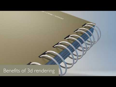 What is 3d rendering?